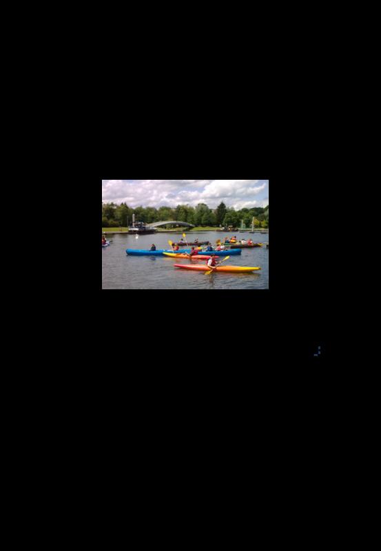 Stage decouverte du canoe kayak du 15 au 19 avril